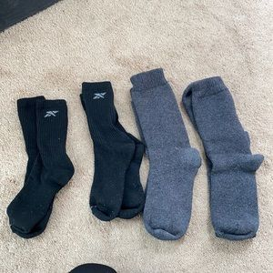 4 pairs men's socks